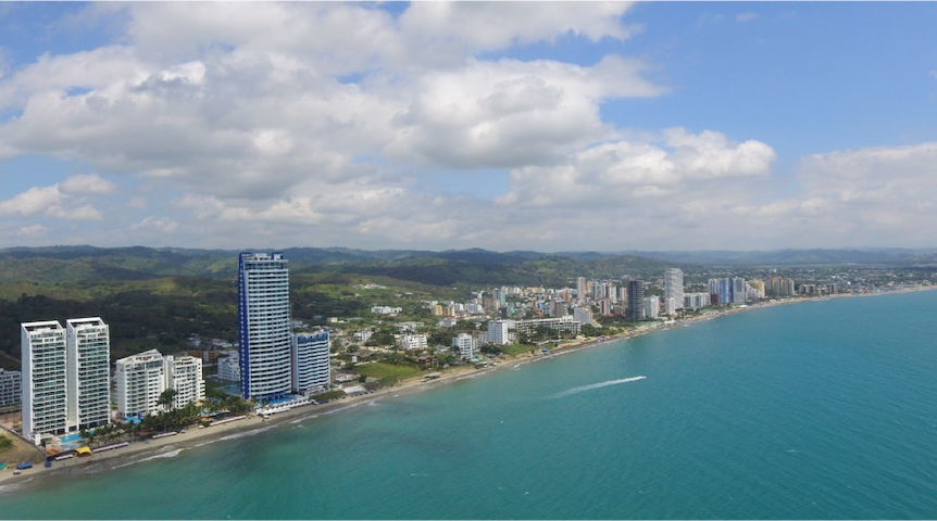 Suite de lujo frente al mar en Makana Resort