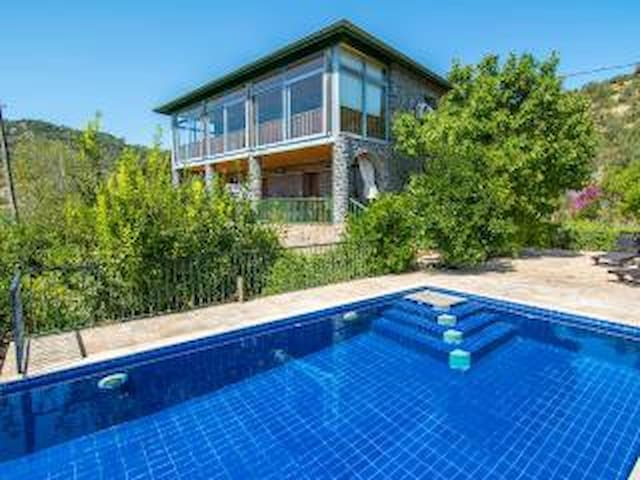 Lavanta villa in Kayakoy with pool - Kayaköy Köyü - Hus