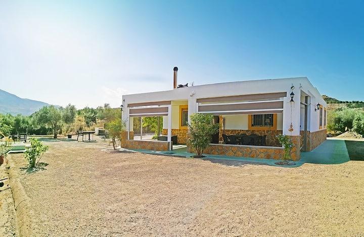 Rustig gelegen privaat huisje Almería