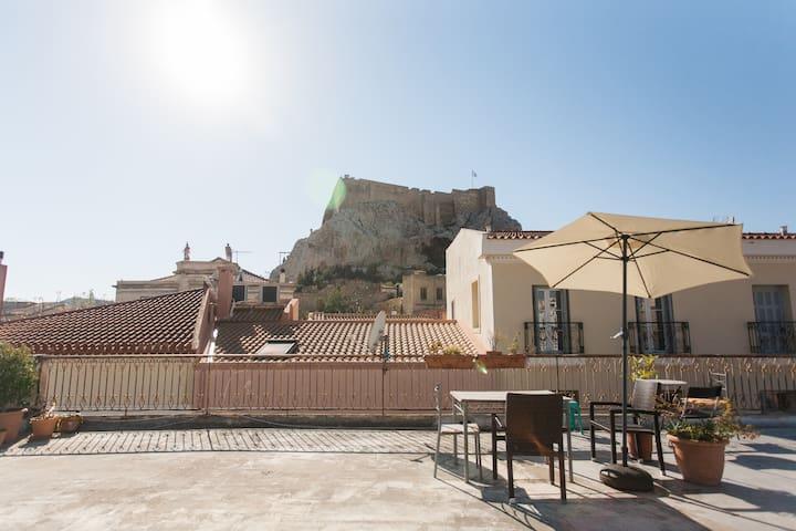 Cozy Akropolis Appartment, Terasse - Athina - Apartment