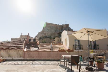 Cozy Akropolis Appartment, Terasse - Athina - Huoneisto
