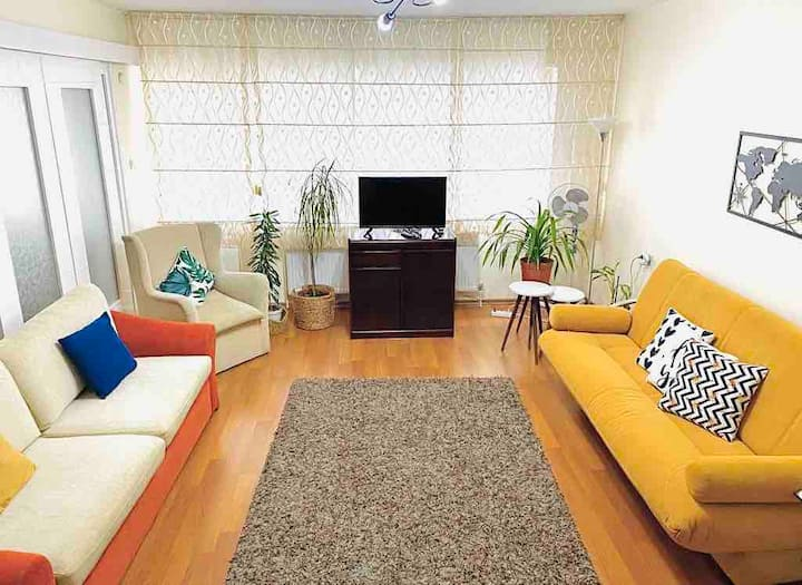 Comfy Flat 2 - Entire Flat   (4 rooms & 125 m2 )