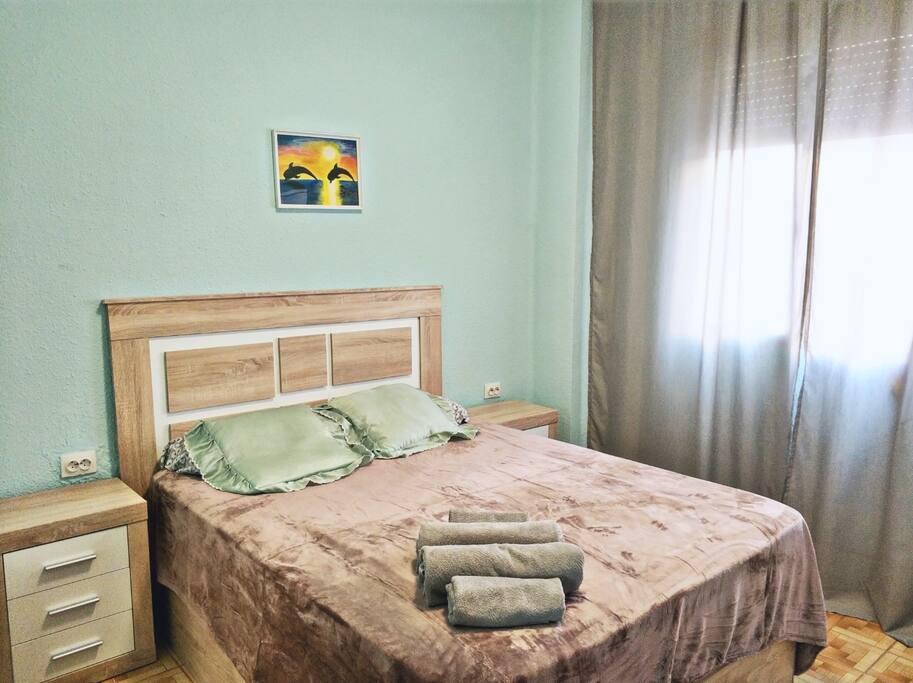 Спальня 1, двуспальная кровать 150 см