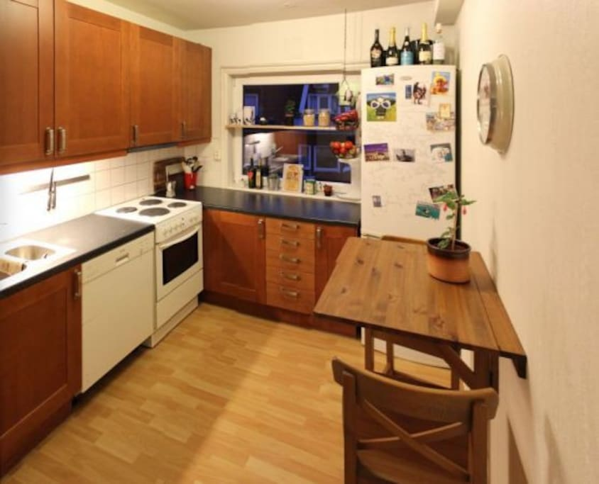 Avalable kitchen at all times.