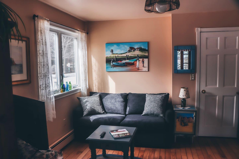 Cozy livingroom nook