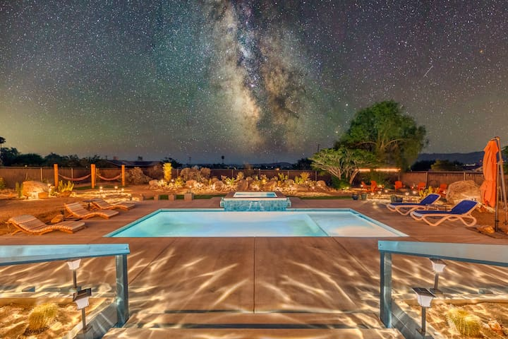 Bella Luna Retreat - Saltwater Pool and Hot Tub