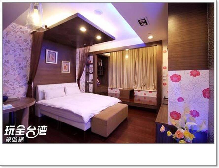 室內擺設裝潢設計都好溫馨,都令人有著家的溫暖感覺。放鬆之旅啊....