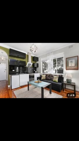 Lovely apartment-Bellevue minutes away from bondi