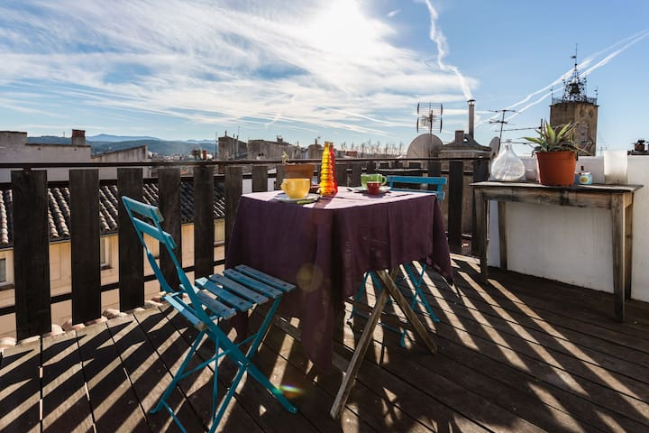 Romantic loft with terrace! - Aix-en-Provence - Apartment
