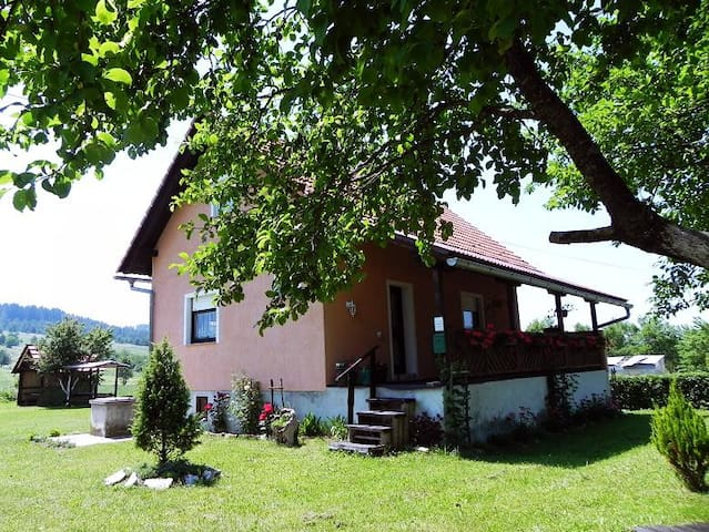 House near Forest & Plitvice Lakes (max 9 people) - Saborsko - Σπίτι