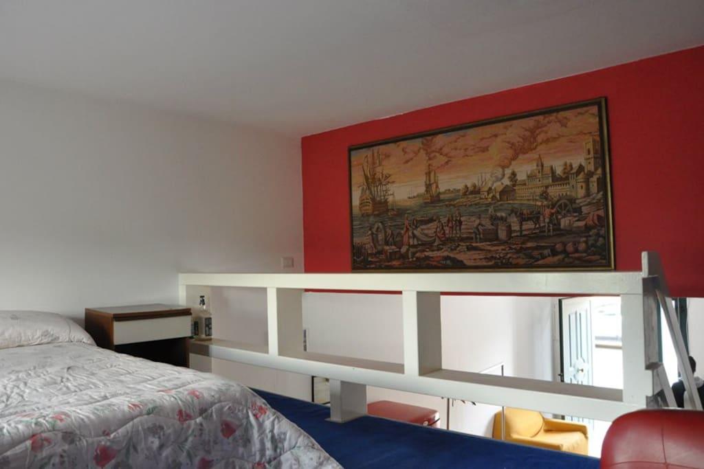 camera da letto (soppalco)