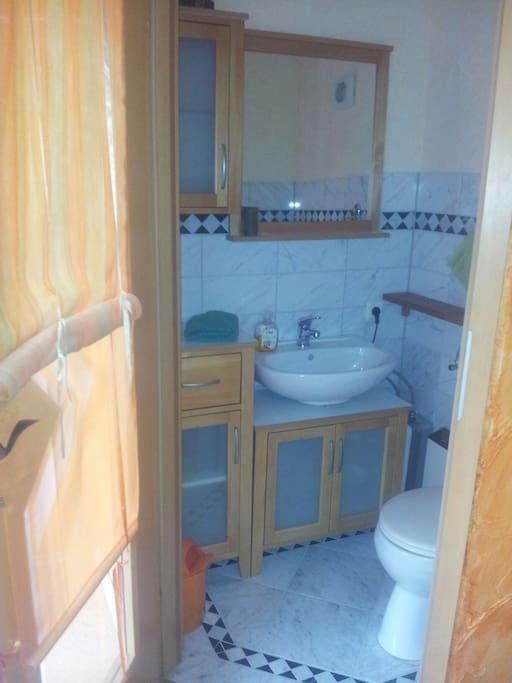 gartenhaus mit terasse ohne dusche nur waschbecken. Black Bedroom Furniture Sets. Home Design Ideas