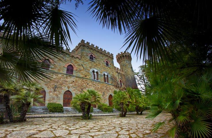 Borgia Castle in Tuscany - Italy