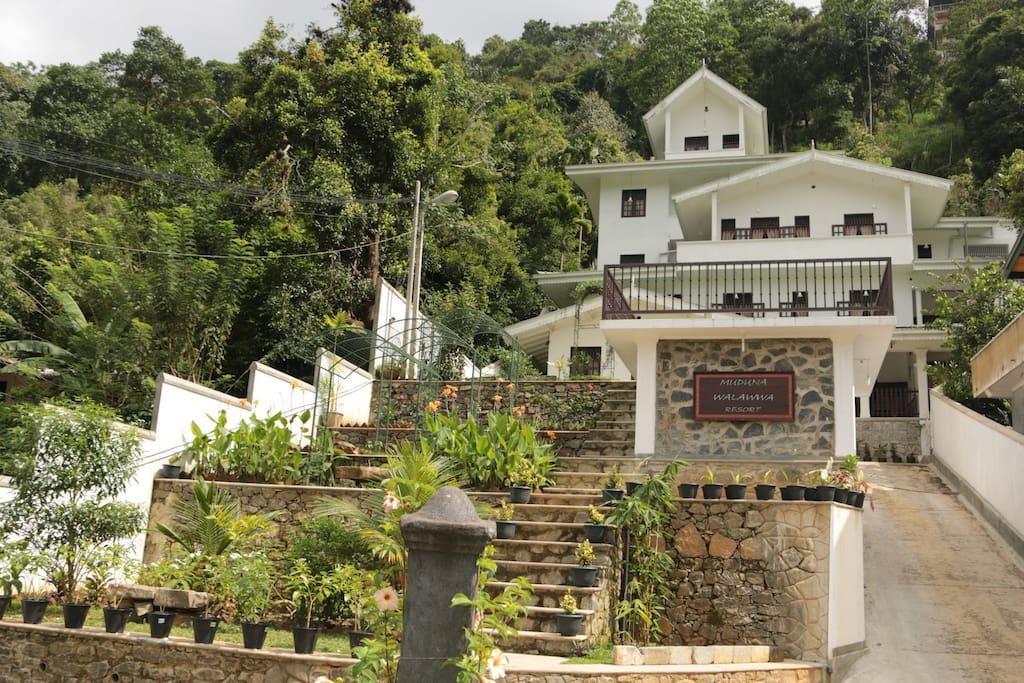 Muduna Walawwa Resort and premises