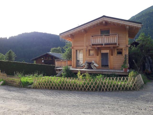 Vallée de Chamonix, petit chalet, grand panorama