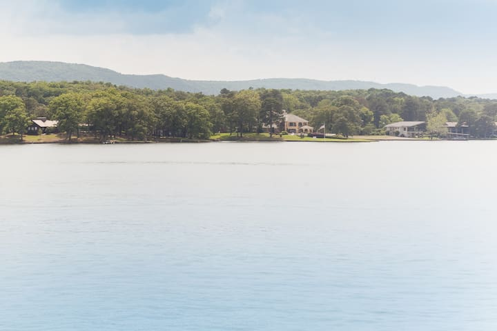 Location +Lake + View + Fishing = Family Fun