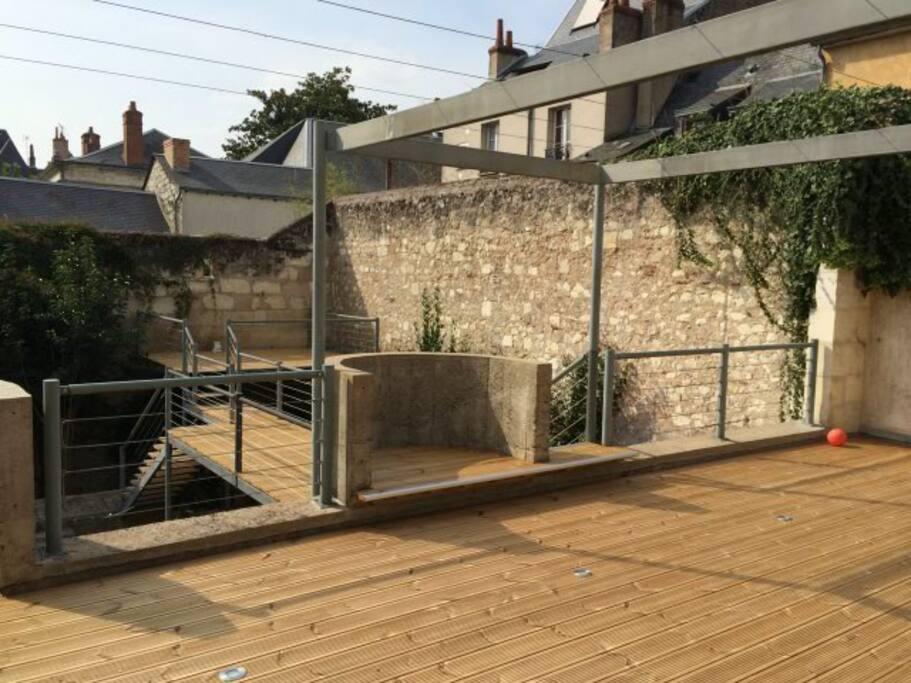 Des terrasses pour profiter du soleil toute la journée