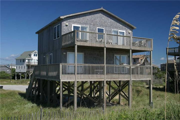 St. Somewhere  OCEANFRONT in Frisco, Pet Friendly