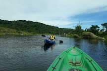 Kayaking..!! Only Rs. 100/Hr. 170KMs from Guwahati towards Mawsynram. N.B. Experience cost not included we will only guide you and charges will be extra at actuals.