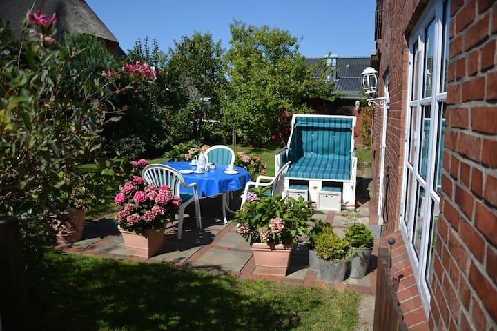 Sonnenwohnung im Friesendorf - Nebel - Apartment