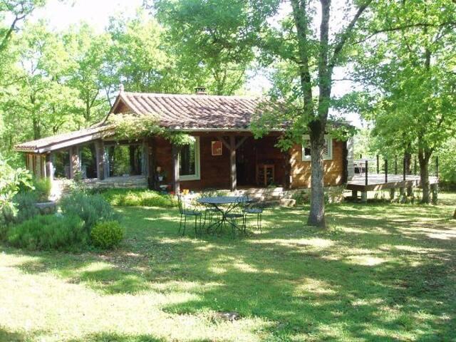maison en bois isoléee - Concots - House