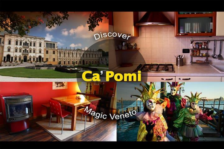 CàPomi: in the heart of magic Veneto