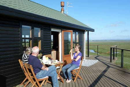 Wonderful cottage - view to Hekla