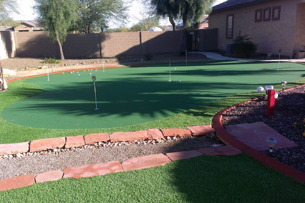 Chipping & Putting Green!