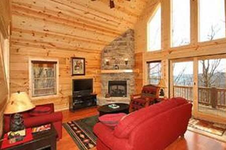 Cabin w/ great mountain views,  near Asheville