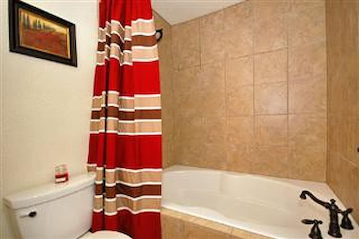 Master Bathroom- 2 Person Soaker Tub