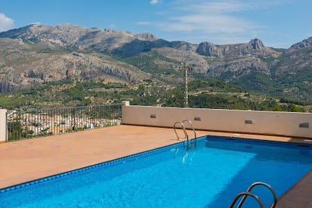 Apart. 2/4 pers. a 1km de Guadalest - Benimantell - Wohnung