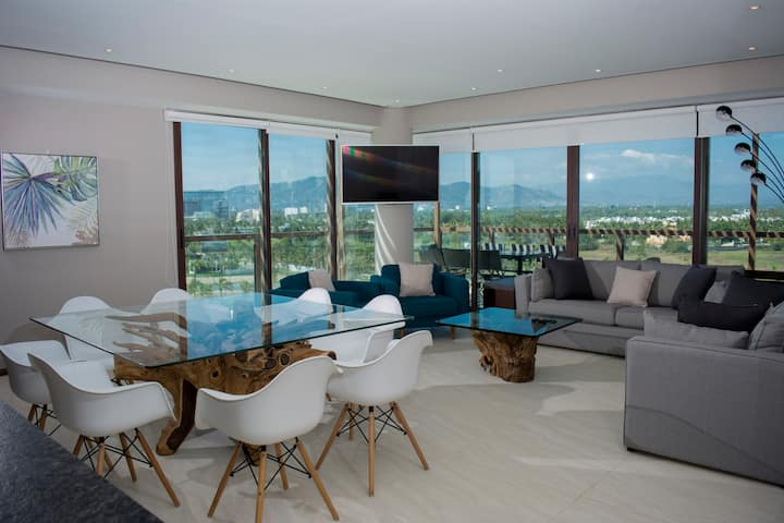 Luxury apartment at the best residential resort