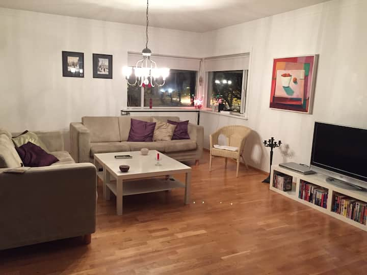 Spacious apartment central Akureyri