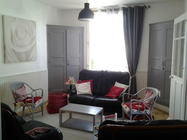 Appartement dans villa bord de mer - Jullouville - Apartment