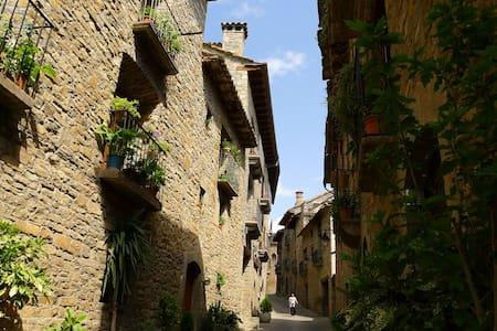 Precioso apto. medieval en Aínsa - Aínsa - Appartement