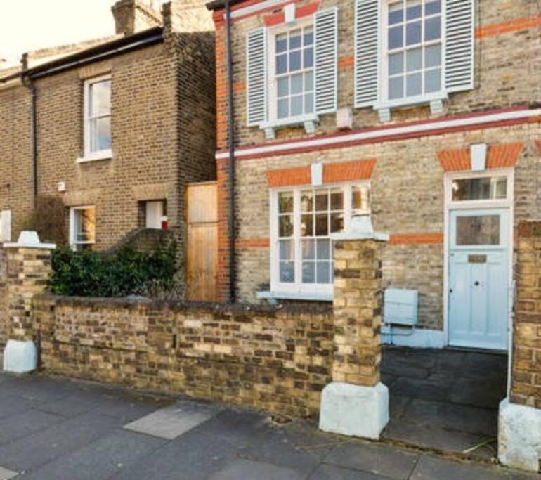 Victorian semi detached house
