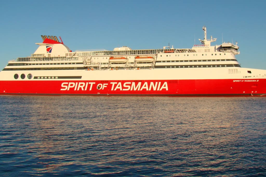 20 minute drive - Spirit of Tasmania car and passenger ferry