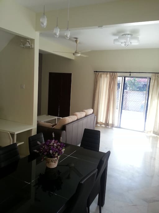Dining area and Spacious Common Area
