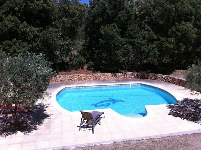 villa des chênes vert - Aups - House