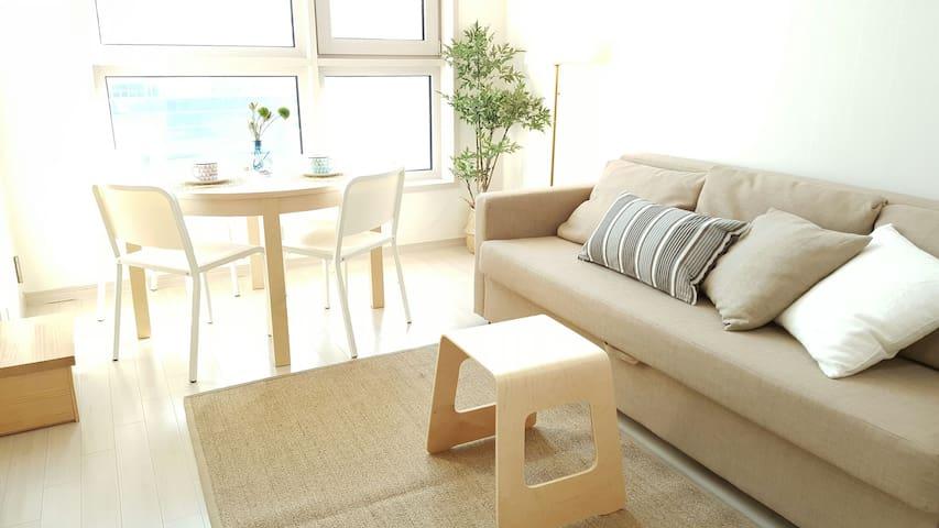 ☆ Haeundae beach duplex☆해운대비치 복층 - 부산광역시, KR - Apartment