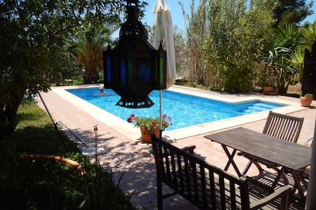 Charming, secluded villa with pool - Lorca
