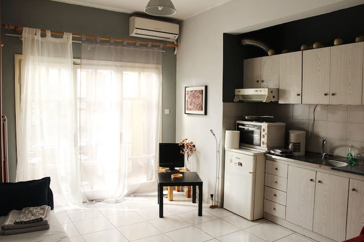 Studio 22sqm, in the Old town of Thessaloniki!