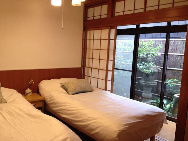 Private garden downtown B&B Room - Kyoto-shi - Maison