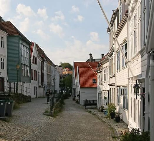Top location in beautiful street. - Bergen - Wohnung