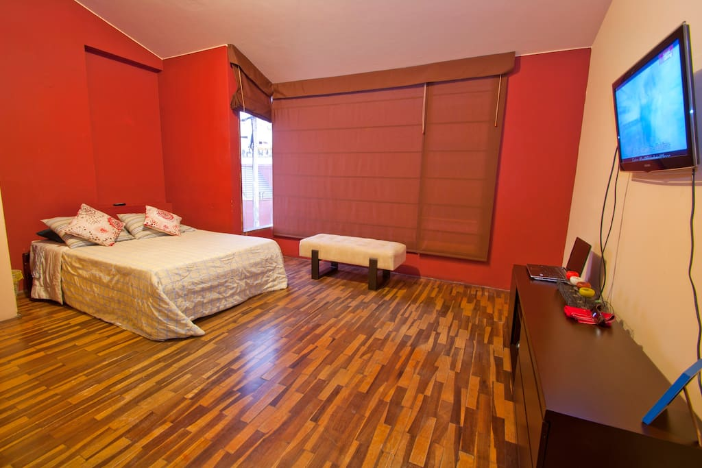Master room with ensuite...$45 for the night an extra bed can be added to the room upon your request