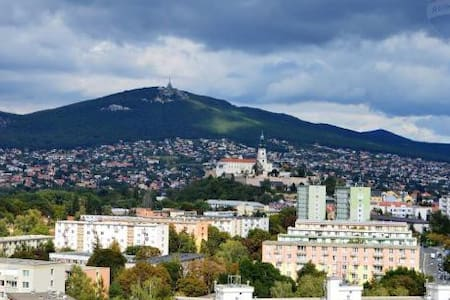 Panoramic views of Nitra from terrasse