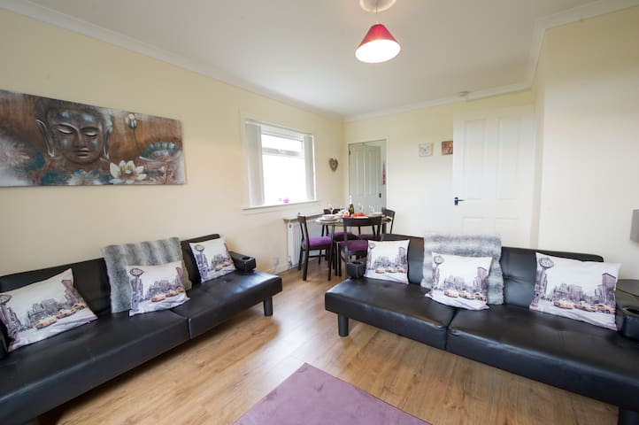 Park View Apartment - Paisley - Apartment