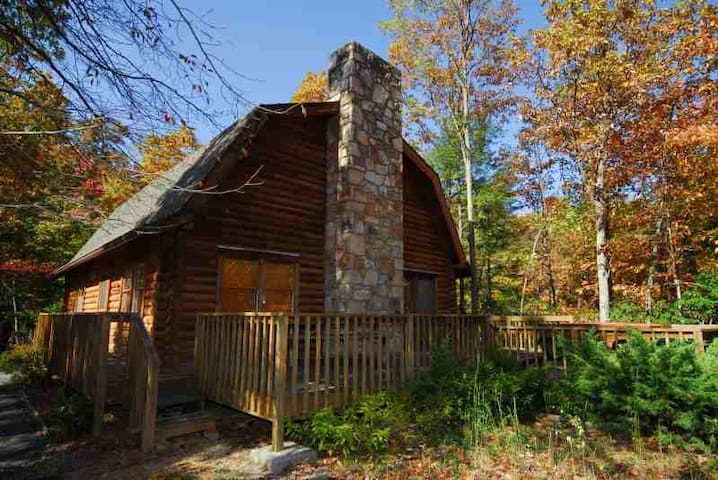 Luxury Mountain Log Cabin - Gatlinburg - House