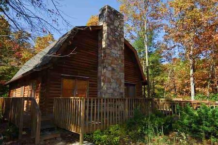 Luxury Mountain Log Cabin  - Dom