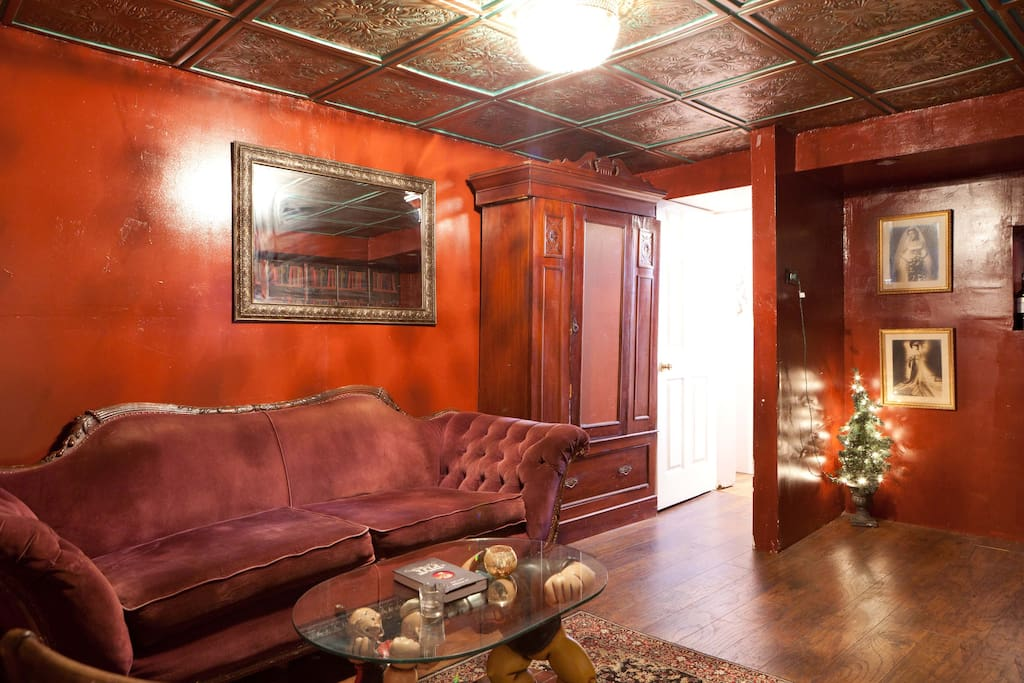 two bedroom apartment with hidden speakeasy apartments for rent in